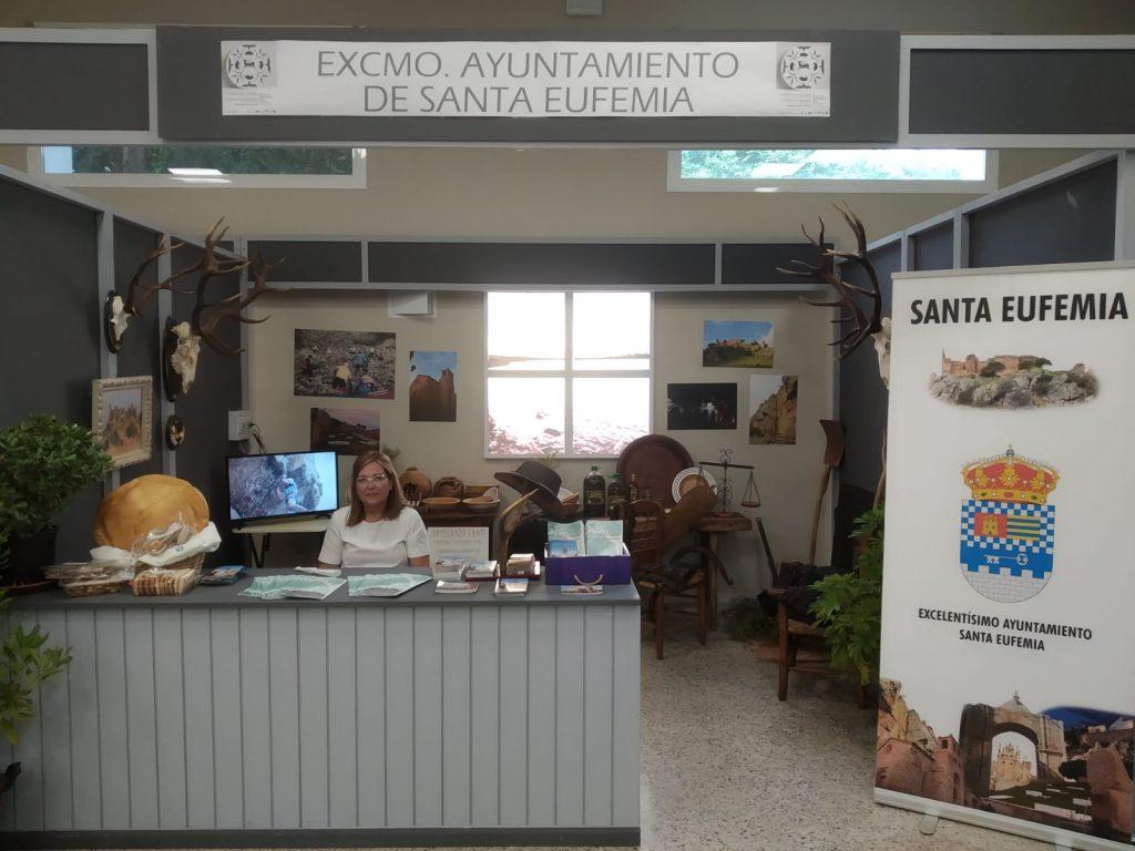 Santa Eufemia de promoción en la II Feria del Turismo de Hinojosa del Duque