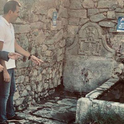 El Ayuntamiento de Pozoblanco inicia el plan de mejora de la fuente pública de La Guizuela