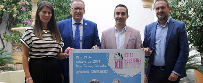 La XII Feria de Ganado Frisón Usías Holsteins, de Dos Torres, contará con la ganadera canadiense Ysabel Jacobs como jueza