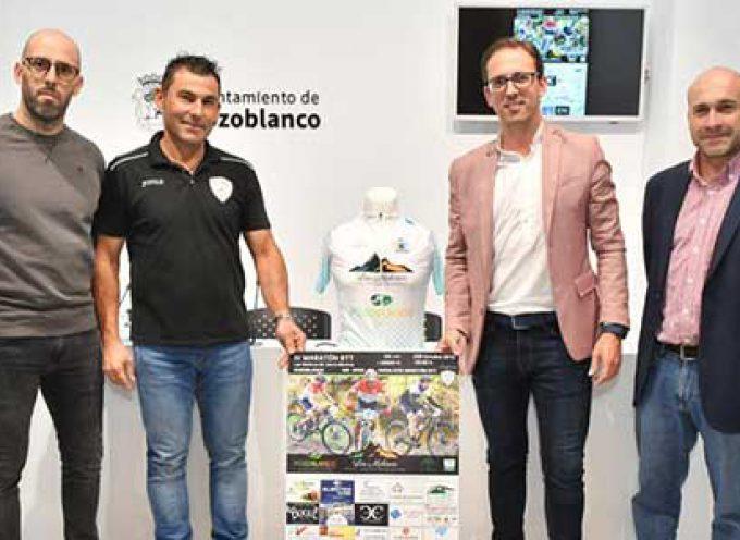 Unos 300 ciclistas participarán en el IV Maratón BTT Las Molinas de Sierra Morena