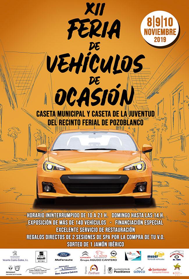 La asociación 'Pozoblanco, Ciudad de Compras' organiza la XII Feria de Vehículos de Ocasión