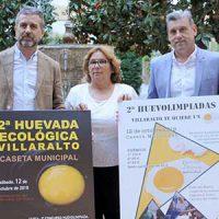 Villaralto presenta la Huevada Ecológica y las Huevolimpiadas en Diputación de Córdoba