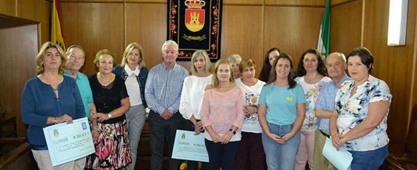 El Ayuntamiento de Pedroche hace entrega de un donativo a Sueño Compartido, Afinorc y AECC