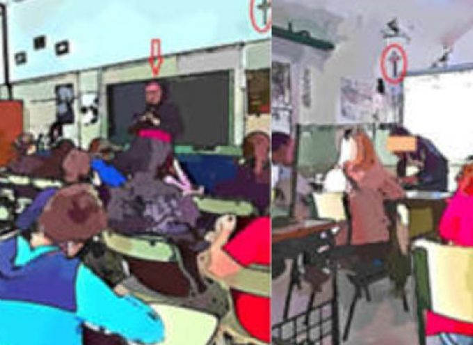 Una charla sobre la 'Simbología religiosa en los centros educativos públicos' en Dos Torres