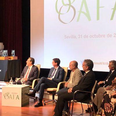 Fundación PRODE recibe el Premio AFA 2019 en el ámbito de lo social