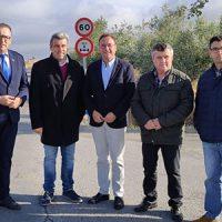 La Diputación se interesa por el estado de las vías de comunicación que discurren por Villaralto