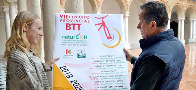 El VII Circuito Provincial BTT NaturCor comienza en Cardeña con la Ruta Starlight