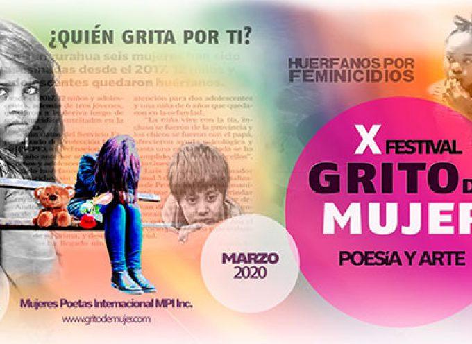 El 10º Festival Internacional Grito de Mujer 2020 también en Pedroche