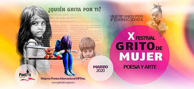 10º Festival Internacional Grito de Mujer 2020