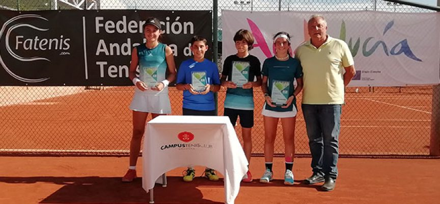 Éxito de tenis pozoalbense en el Andaluz Sub 13