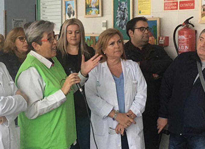 El Hospital Valle de los Pedroches alberga una nueva edición de la exposición de artes plásticas de AFEMVAP