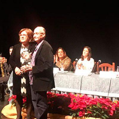 Federico Gallego recoge el VI Premio Juana Castro de Poesía