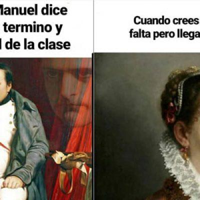 En el IES Antonio Mª Calero sí son compatibles los 'memes' con aprender Historia