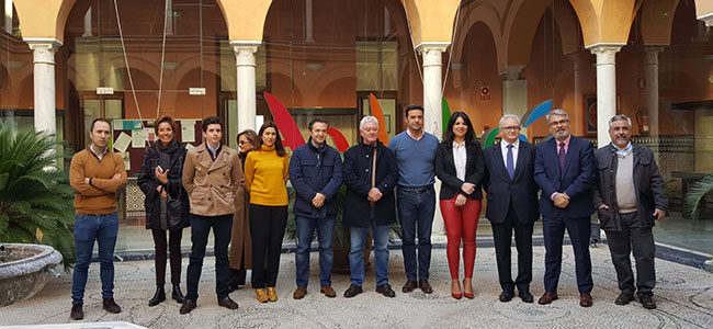 Santiago Ruiz, alcalde de Pedroche, se reúne con el sector turístico ecuestre defendiendo la fiesta de los Piostros