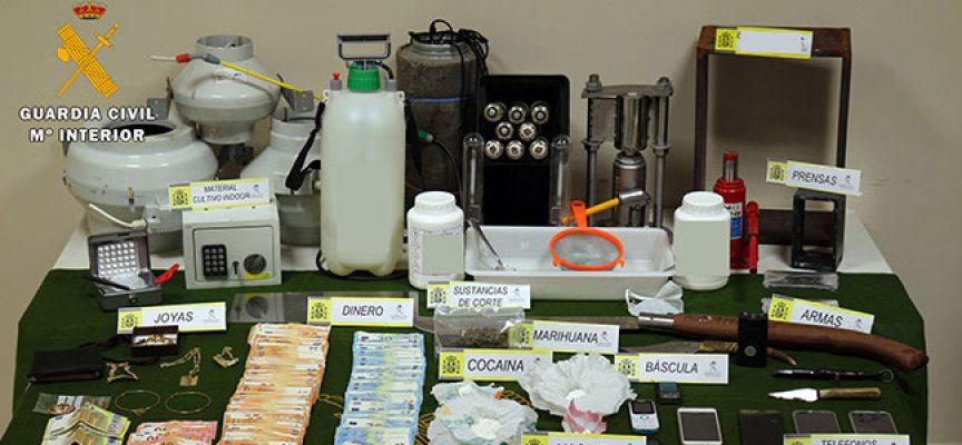 Desarticulado un grupo criminal dedicado al tráfico de drogas en Pozoblanco y Villanueva de Córdoba
