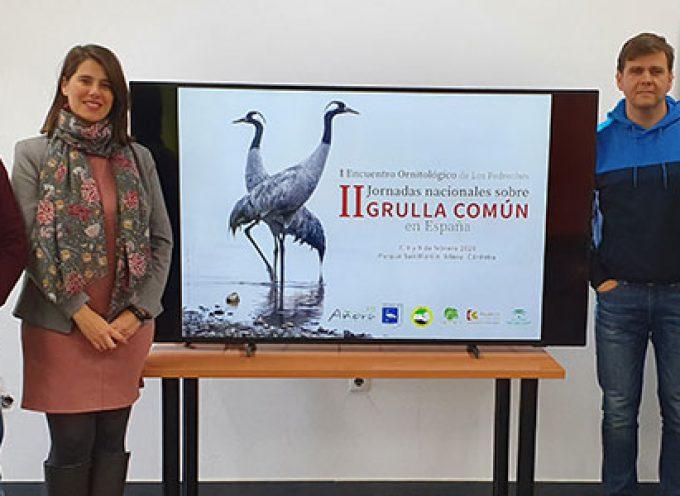 El Parque San Martín albergará las jornadas nacionales de la grulla común en febrero