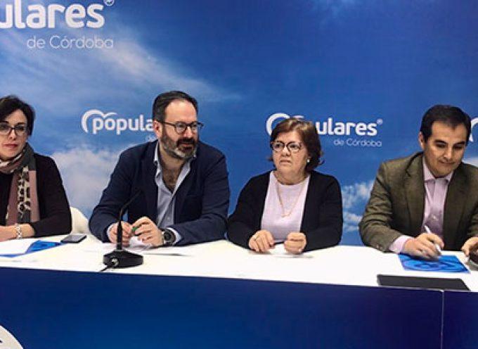 El Comité Ejecutivo Provincial del PP cordobés se ha reunido en Villanueva de Córdoba