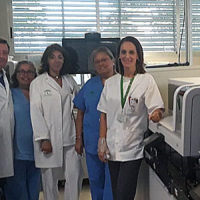La Unidad de Análisis Clínicos del Área Sanitaria Norte de Córdoba instala equipos analíticos de última generación