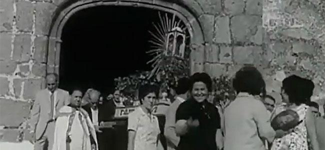 Celebración de la Virgen de Guía en Villanueva del Duque en 1971 y 1974