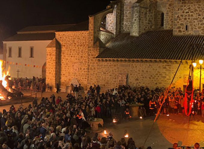 Miles de visitantes han disfrutado de la Candelaria de Dos Torres