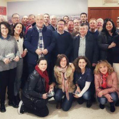 Rodrigo Sánchez Haro participa en una reunión del PSOE de Los Pedroches con el secretario general provincial