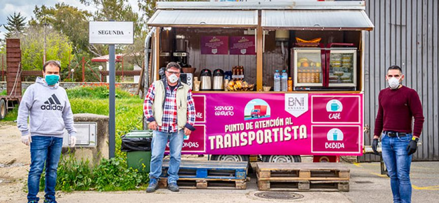 BNI Los Pedroches ofrece un Punto de Atención al Transportista en plena crisis del Coronavirus