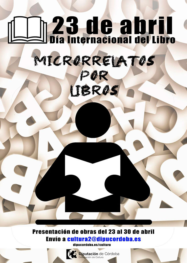La Diputación de Córdoba pone en marcha el certamen 'Microrrelatos por libros' basado en experiencias durante el confinamiento