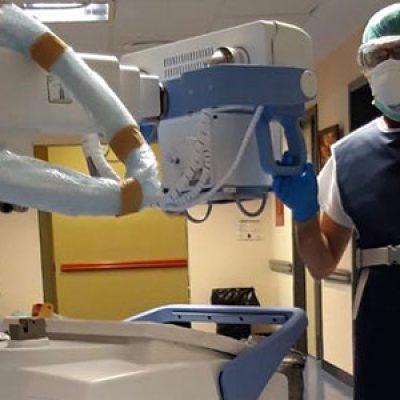 El Hospital Valle de los Pedroches adquiere un nuevo equipo portátil de radiología digital para los pacientes con COVID-19