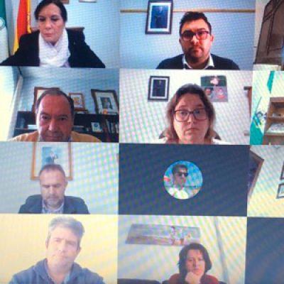El presidente de la Diputación concluye una ronda de reuniones telemáticas con todas las comarcas de la provincia