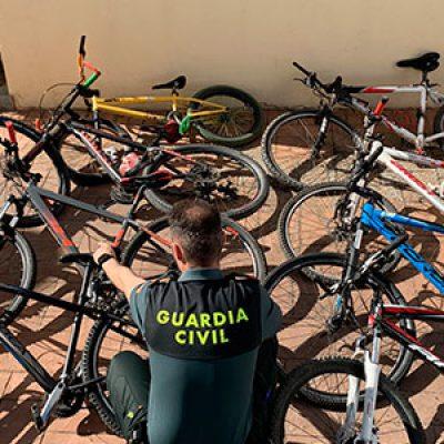 Recuperadas en Pozoblanco 8 bicicletas y detenido el menor que supuestamente las había sustraído