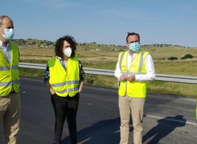 La Diputación realiza obras de mejora en la CO-6410, de Pozoblanco a Villaharta
