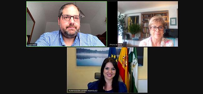 El CIET Los Pedroches le plantea a la Delegada de Turismo de la Junta sus preocupaciones y proyectos