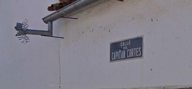 Calle del Capitán Cortés