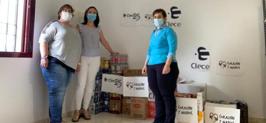 Corazón y Manos entrega más de 300 kg de alimentos al Ayuntamiento de Torrecampo
