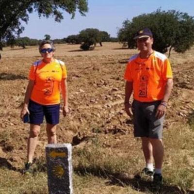 Más de un centenar de hitos han sido instalados por la Asociación Cordobesa de Amigos del Camino de Santiago