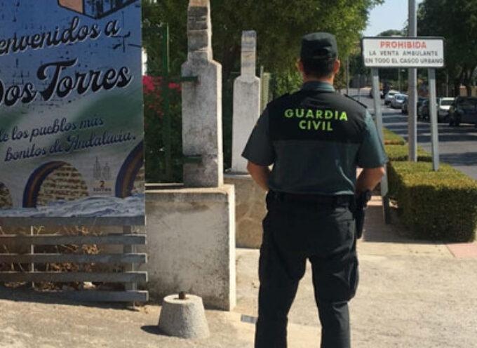 Un detenido en Dos Torres por un delito contra el derecho de los trabajadores y otro por una infracción a la normativa de extranjería