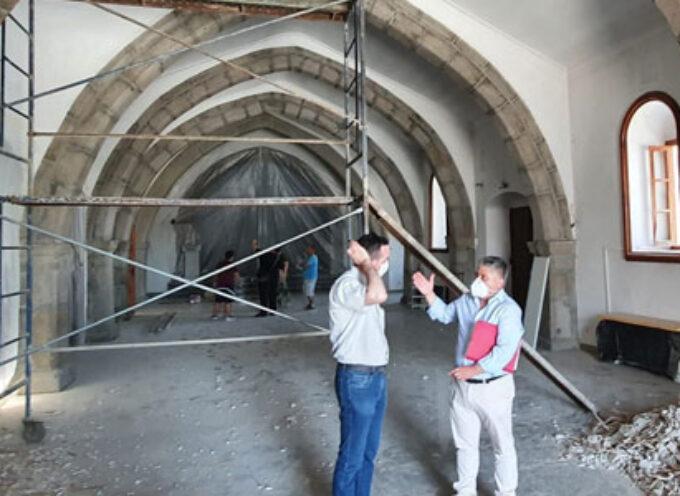 Obras de rehabilitación en la parroquia San Bartolomé de Pozoblanco