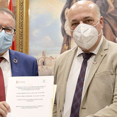 Firmado un convenio entre la Diputación y el Ayuntamiento de El Viso para el acondicionamiento del Centro Artesanal de Los Pedroches
