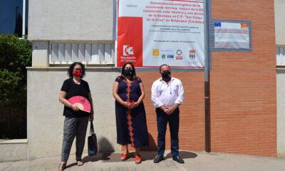 Belalcázar comienza la rehabilitación energética y la renovación para el uso de biomasa en el CEIP 'Sor Felipa de la Cruz'