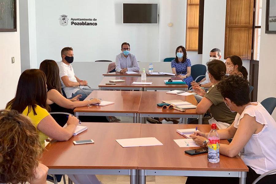 Ayuntamiento de Pozoblanco y los centros escolares coordinan los protocolos de seguridad frente al COVID-19