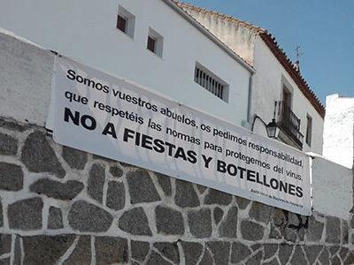 Los mayores de Pedroche le piden 'responsabilidad' a los jóvenes frente a la pandemia