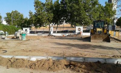Arranca en Pozoblanco la construcción de un parking para autocaravanas