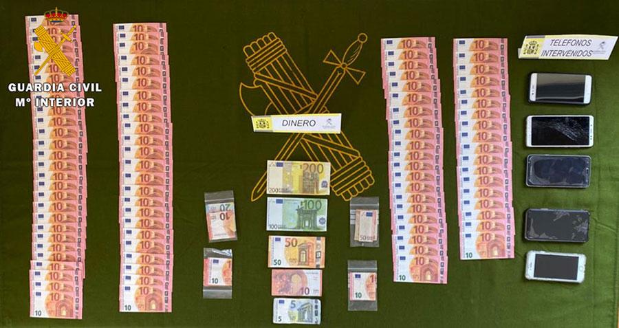 Detenidas en Pozoblanco dos personas por un delito de falsificación de moneda