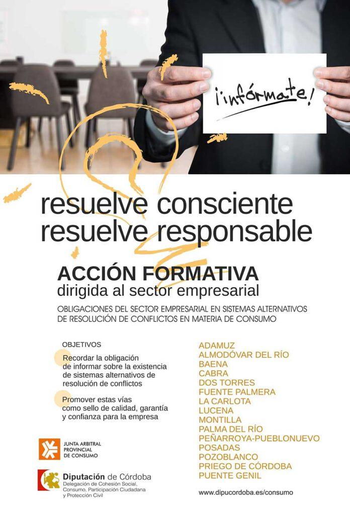 Dos Torres y Pozoblanco participarán en la campaña 'Resuelve Consciente; Resuelve Responsable'