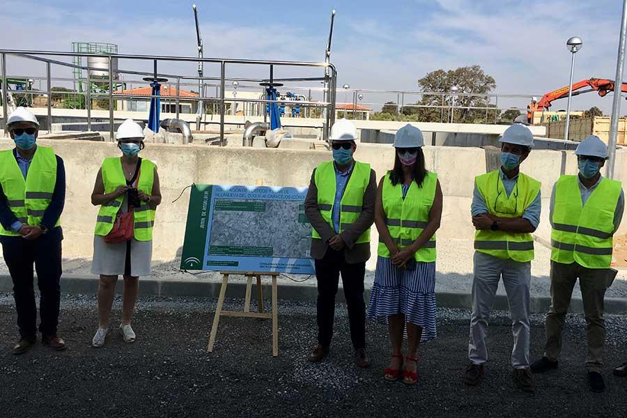 La Junta acelera la ejecución de la Estación Depuradora de Aguas Residuales de Villanueva del Duque-Alcaracejos