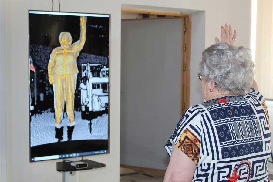 La residencia de mayores El Salvador, de Pedroche, colabora en el desarrollo de equipos para la rehabilitación remota de personas mayores