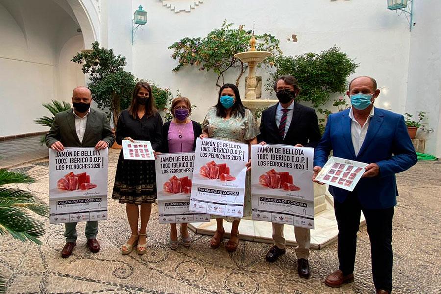 Villanueva de Córdoba convierte los concursos en torno al jamón en una oportunidad de promoción