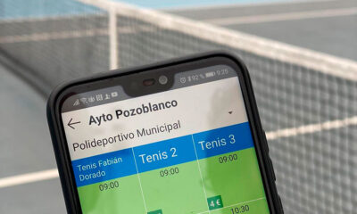 Pozoblanco centraliza la cita previa de las instalaciones deportivas a través de una 'app'