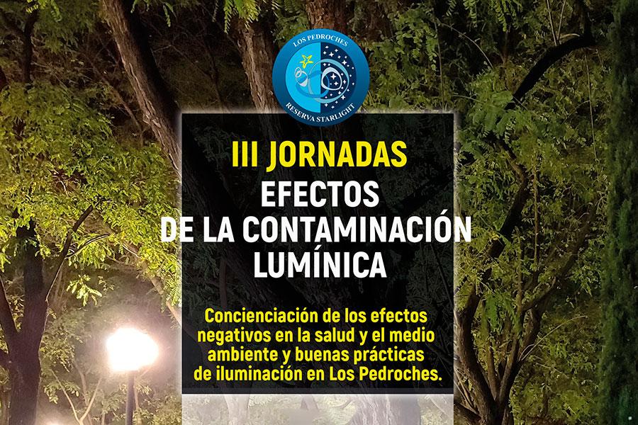 III Jornadas de Contaminación Lumínica en Los Pedroches