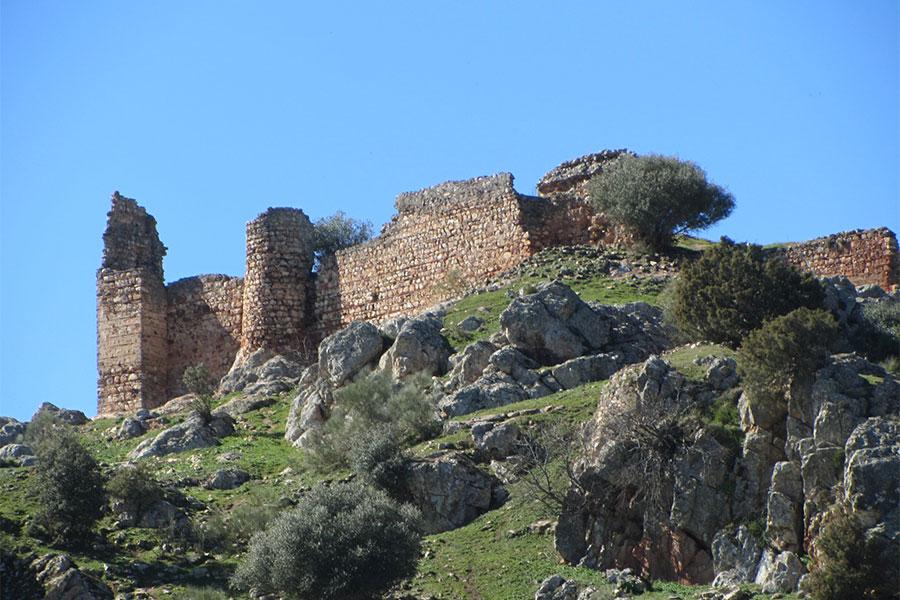 Castillo de Miramontes, Santa Eufemia